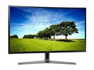 "Samsung CHG70 Series C27HG70 27"" 2560 x 1440 (2K) 144Hz 1800R Curved Gaming Monitor, QLED, 1ms (GTG), AMD FreeSync 2, 2xHDMI, DP, USB, VESA Mount, Height/Tilt/Swivel/Pivot Adjustable"