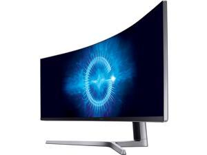 "Samsung CHG90 Series C49HG90 49"" 3840 x 1080 1ms 144Hz 2x HDMI DisplayPort Mini-DisplayPort HDR AMD FreeSync USB Hub QLED Curved Gaming Monitor"