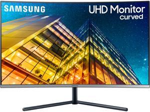 "Samsung UR59C Series U32R590C 32"" (Actual size 31.5"") Ultra HD 3840 x 2160 4K Resolution 4ms (GTG) HDMI DisplayPort Flicker Free LED Backlit Curved LCD Monitor"