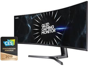 "Samsung CRG9 Series C49RG90S 49"" Dual Quad HD 5120 x 1440 Resolution 120Hz HDMI, 2x DisplayPort AMD FreeSync 2 Flicker Free HDR1000 QLED Curved Gaming Monitor"