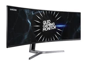 "Samsung CRG9 Series C49RG90S 49"" Dual Quad HD 5120 x 1440 Resolution 120Hz HDMI, 2x DisplayPort AMD FreeSync 2 Flicker Free HDR1000 QLED Curved Gaming Monitor"