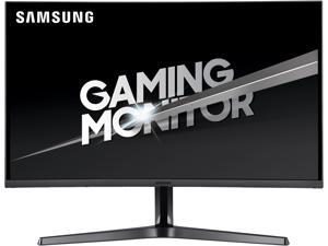 "SAMSUNG C32JG56 32"" WQHD 2560 x 1440 2K Resolution 4ms 144Hz 2x HDMI, DisplayPort Flicker-Free AMD FreeSync Eco Saving Plus Widescreen LED Backlit Curved Gaming Monitor"