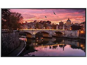 "Samsung QB43R 43"" Edge-Lit 4K Ultra HD Commercial LCD Display (Cisco Certified Compatible), 350nit, Tizen 4.0, WiFi, BT, Speaker, Portrait/Landscape, 16/7 - LH43QBREBGCXZA"