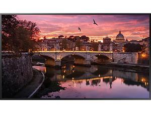 "Samsung QB75R-N 75"" Edge-Lit 4K Ultra HD Commercial LCD Display (Cisco Certified Compatible Display), Non Wi-Fi, Integrated Media Player and SoC, TAA - LH75QBRNBGCXGO"