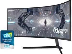 "SAMSUNG LC49G95TSSNXZA 49"" 5120 x 1440 240 Hz (Max.) HDMI, 2 x DisplayPort, USB FreeSync and G-Sync Curved Gaming Monitor"
