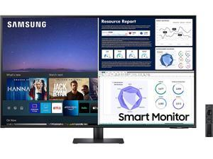 """SAMSUNG M70UA Series 43AM702UA 43"""" UHD 3840 x 2160 (4K) 2 x HDMI, USB, USB Type-C Built-in Speakers Smart Monitor"""