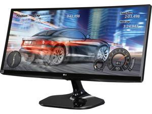 "LG 25UM58-P 25"" Class 21:9 UltraWide Full HD IPS Monitor 5ms 2560 x 1080 75 Hz Refresh Rate Flicker Safe Black Stabilizer and On Screen Control w/ Screen Split 2.0 HDMI"