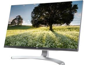 """LG 27UD88-W 27"""" FreeSync IPS LED Monitor 4K UHD 3840 x 2160 16:9 Widescreen On-Screen Control with Screen Split, Game Mode & Black Stabilizer USB 3.0 Quick Charge HDMI"""