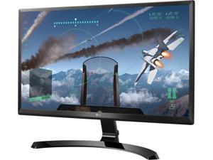 "LG 24UD58-B Black 23.8"" 5ms (GTG) HDMI Widescreen LED Backlight Ultra HD IPS 4K FreeSync Monitor"