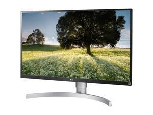 "LG 27UK650-W 27"" 4K UHD (3840x2160) IPS HDR10 350 cd/m2 FreeSync Gaming Monitor with HDMI DisplayPort Height/Pivot Adjustable Stand"
