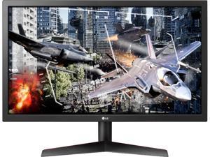 "LG 24GL600F-B 24"" Full HD 1920 x 1080 1ms (GTG Faster) 144Hz 2xHDMI DisplayPort Flicker Safe AMD Radeon FreeSync Anti-Glare Backlit LED Gaming Monitor"