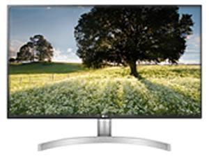 "LG 27UL500-W Black / Silver 27"" 5ms (GTG) HDMI Widescreen sRGB 98% 4K UHD 3840 x 2160 HDR Monitor w/ Radeon FreeSync"