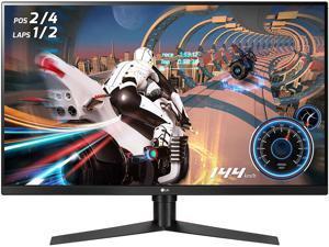 "LG ULTRAGEAR 32GK65B-B 32"" 144HZ 1ms QHD 2560 x 1440 2K Resolution 2 x HDMI, DisplayPort Radeon FreeSync & NVIDIA G-SYNC Compatible Borderless Design HDCP Widescreen LED Backlit Gaming Monitor"