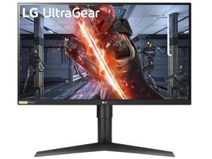 "LG 27GN750-B 27"" Full HD 1920 x 1080 1ms (GTG) 240Hz 2xHDMI DisplayPort USB Hub AMD RADEON FreeSync G-Sync Compatible Flicker Safe Backlit LED Height Adjustable Gaming Monitor"