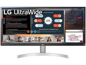 "LG UltraWide 29WN600-W 29"" WFHD 2560 x 1080 5 ms (GTG at Faster) 75 Hz HDMI, DisplayPort RADEON FreeSync Built-in Speakers Monitor"