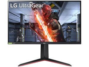 """LG 27GN650-B 27"""" Full HD 1920 x 1080 1ms (GTG) 144 Hz 2 x HDMI, DisplayPort, Headphone Out NVIDIA G-SYNC Compatible with AMD FreeSync Premium Gaming Monitor"""