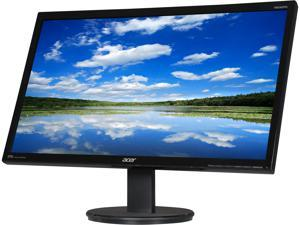 """Acer KN242HYL 23.8"""" IPS LCD/LED Widescreen Monitor 1920x1080, 4ms (GTG) 60Hz Refresh Rate, 16:9 Aspect Ratio, D-sub/DVI/HDMI, Tilt Capable with Built in Speakers"""