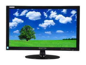 "SCEPTRE E248W-19208A Black 24"" 5ms (GTG) HDMI Widescreen LED Backlight LCD Monitor 250 cd/m2 DCR 5,000,000:1 (1,000:1), US Warranty"