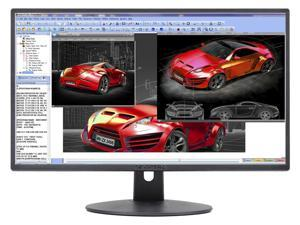 "SCEPTRE E248W-19203R 24"" (23.8"" Viewable) 1920 x 1080 Full HD 75Hz HDMI Widescreen LED Backlight Monitor"
