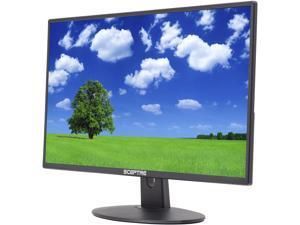 "Sceptre E225W-19203R 22"" Ultra Thin 75Hz Full HD 1080p LED Monitor HDMI VGA Built-in Speakers 5ms Metallic Black Monitor"