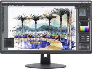 """Sceptre E275W-19203R 27"""" Ultra Thin 1080p LED Monitor 2x HDMI VGA Build-in Speakers, Metallic Black 2018 version"""