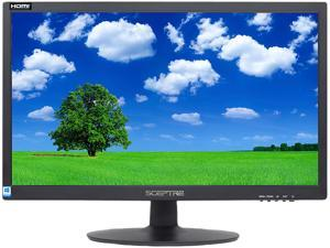 "Sceptre 22"" E225W-19203S 75Hz 1080p LED Monitor HDMI VGA Build-in Speakers, Brushed Black"