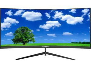 """SCEPTRE C305B-200UN 30"""" UltraWide HD 2560 x 1080 2K Resolution 200Hz 3 x HDMI, DisplayPort Built-In Speakers FreeSync Technology Backcover Anti-Glare LED Backlit Curved Gaming Monitor"""