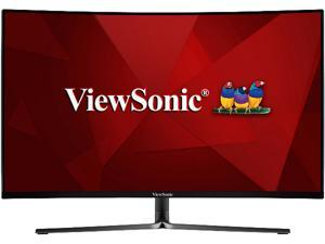 "ViewSonic VX3258-PC-MHD 32"" Full HD 1920x1080 1ms 165Hz 2xHDMI DisplayPort Built-in Speakers AMD FreeSync Technology Curved Gaming Monitor"