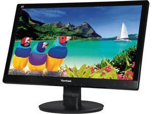"ViewSonic VA2055SA Black 19.5"" Widescreen LED Backlight LCD Full HD 1080P Monitor, 250 cd/m2 3000:1, D-Sub, VESA mountable"