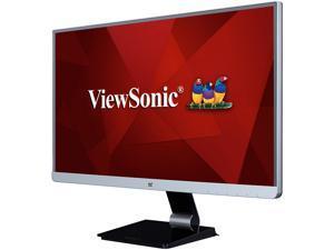 """ViewSonic VX2478-smhd 24"""" WQHD 2560 x 1440 2K 60Hz DisplayPort HDMI Mini-DisplayPort Built-in Speakers Anti-Glare Backlit LED IPS Monitor"""