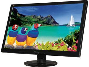 "ViewSonic VA2446MH-LED 24"" (Actual size 23.6"") Full HD 1920 x 1080 5ms (GTG) VGA HDMI Built-in Speakers Anti-Glare LED Backlight LCD Monitor"