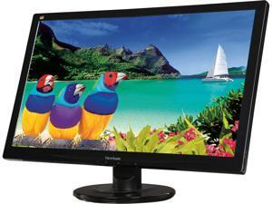 "ViewSonic VA2446MH-LED 24"" (Actual size 23.6"") Full HD 1920 x 1080 VGA HDMI Built-in Speakers Anti-Glare LED Backlight LCD Monitor"