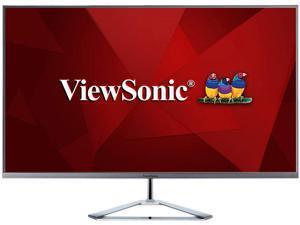 "ViewSonic VX3276-mhd 32"" (Actual size 31.5"") Full HD 1920 x 1080 HDMI DisplayPort VGA Built-in Speakers Flicker-Free Frameless Bezel Ultra Slim IPS LED Backlight Monitor"