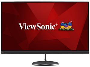 "ViewSonic VX2785-2K-MHDU 27"" Quad HD 2560 x 1440 (2K) HDMI DisplayPort USB 3.2 Type-C AMD FreeSync Built-in Speakers Anti-Glare Frameless Backlit LED IPS Monitor"