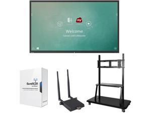 "ViewSonic IFP8650-M2 Black 86"" USB Infrared, 20-Point Touch ViewBoard 4K Ultra HD Interactive Flat Panel MDM Bundle 2"
