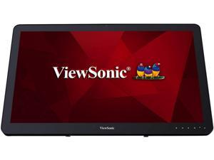 "ViewSonic VSD243BKAUS0 Black 24"" Display, 250 cd/m2 Brightness, Integrated Media Player"