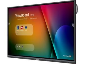 """ViewSonic IFP7550-3 Black 75"""" USB IR Recognition, 20 Points Touch, 10 Points Writing ViewBoard 4K Interactive Display"""