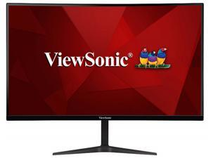 """ViewSonic VX2718-PC-MHD 27"""" Full HD 1080p 165Hz 1ms Curved Gaming Monitor with AMD FreeSync Eye Care Frameless HDMI and Display Port"""