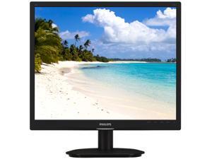 "PHILIPS 19S4LSB/27 Black 19"" 5ms LED Backlight LCD Monitor"
