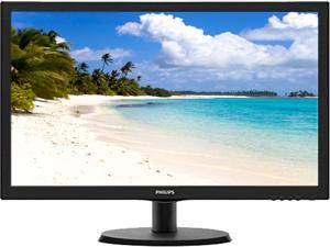"PHILIPS 223V5LSB2/10 Black 21.5"" 5ms Widescreen LCD Monitor"