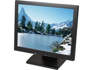 "ViewEra V157TP Black 15"" USB 5-wire Resistive Touchscreen Monitor"