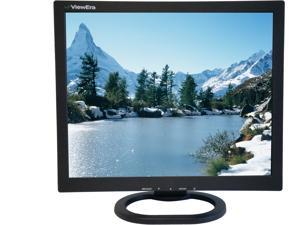 "ViewEra V172BN2 Black 17"" LCD/LED Video Monitor, 250cd/m2, 1000:1, BNC In/Out, D-Sub"