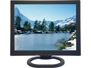 """ViewEra V151BN2 Black 15"""" LCD/LED Security Monitor, 350cd/m2, 700:1, BNC In/Out, D-Sub"""