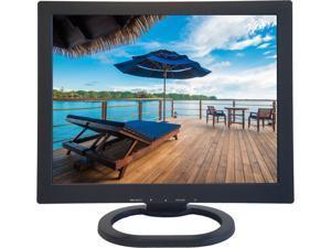 "ViewEra V151HV2 Black 15"" LCD/LED Video Monitor, 350cd/m2, 700:1, Composite Video, S-Video, D-Sub"