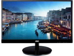 "AOC I2769VM 27"" Full HD 1920x1080 monitor, 3-sided frameless/ultra-thin bezels, IPS Panel, 50M:1 dynamic contrast ratio, DisplayPort/HDMI (x2)/DVI/VGA, Built-in speakers, VESA compatible"
