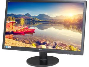 "AOC E2475SWQE 23.6"" Full HD 1920x1080 monitor, 1ms response time, 20M:1 dynamic contrast ratio, DisplayPort/HDMI/VGA, VESA compatible, EPEAT Silver, EnergyStar"