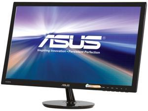 "ASUS VS248H-P 24"" 1920 x 1080 Full HD VGA DVI HDMI Asus Eye Care with Ultra Low-Blue Light & Flicker-Free LED Backlit LCD Monitor"