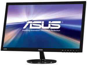 "ASUS VS Series VS247H-P 24"" (Actual size 23.6"") Full HD 1920 x 1080 60Hz 2ms HDMI VGA DVI-D SPLENDID Modes Widescreen LED Backlight LCD Monitor"