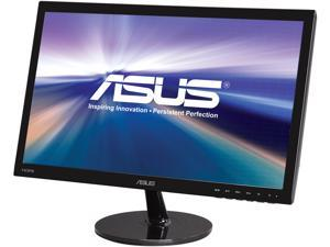 "ASUS VS Series VS228H-P 22"" (21.5"" Diagonal) Full HD 1920 x 1080 5ms HDMI VGA DVI-D SPLENDID Video Intelligence Technology Asus Eye Care Flicker-Free Widescreen LED Backlight LCD Monitor"