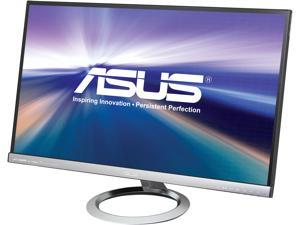 "ASUS Designo MX279H Silver & Black 27"" Frameless Widescreen Monitor FHD (1920x1080) AH-IPS 5ms (GTG) Built-in Audio by Bang & Olufsen ICEpower® 2 x HDMI D-Sub 3.5mm Earphone Jack 250 cd/m2 ASCR 80,0"